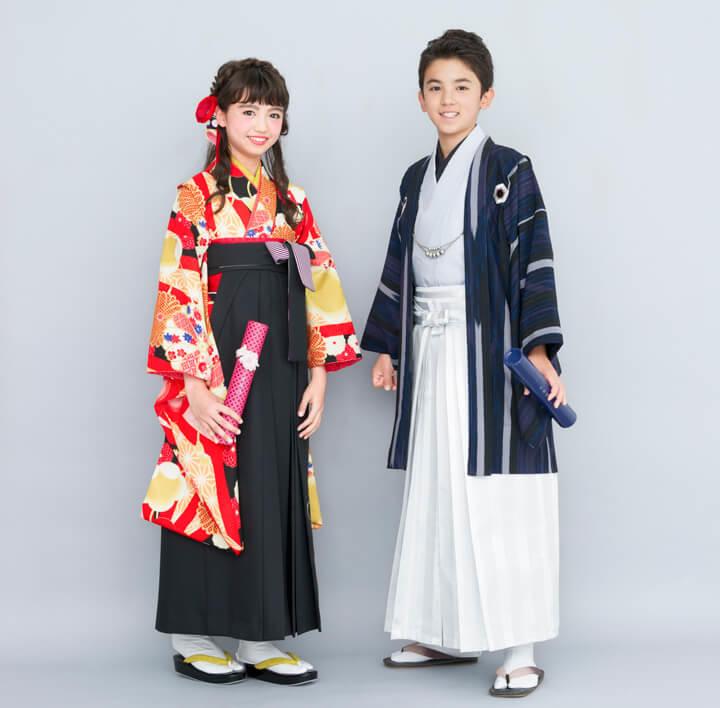 小学校卒業式用レンタル袴