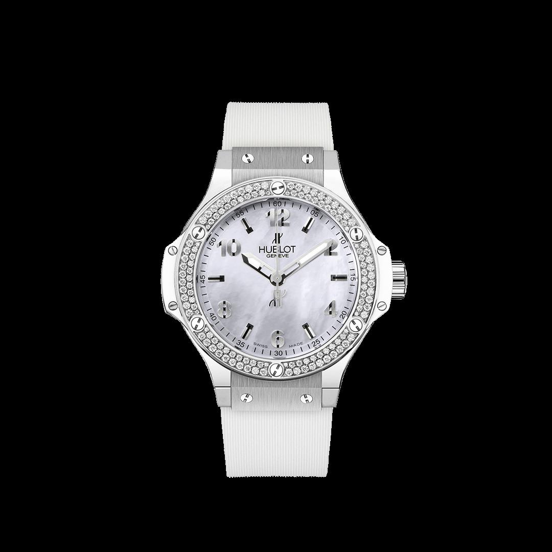 ビッグ・バン オールホワイト ダイヤモンド マザーオブパール