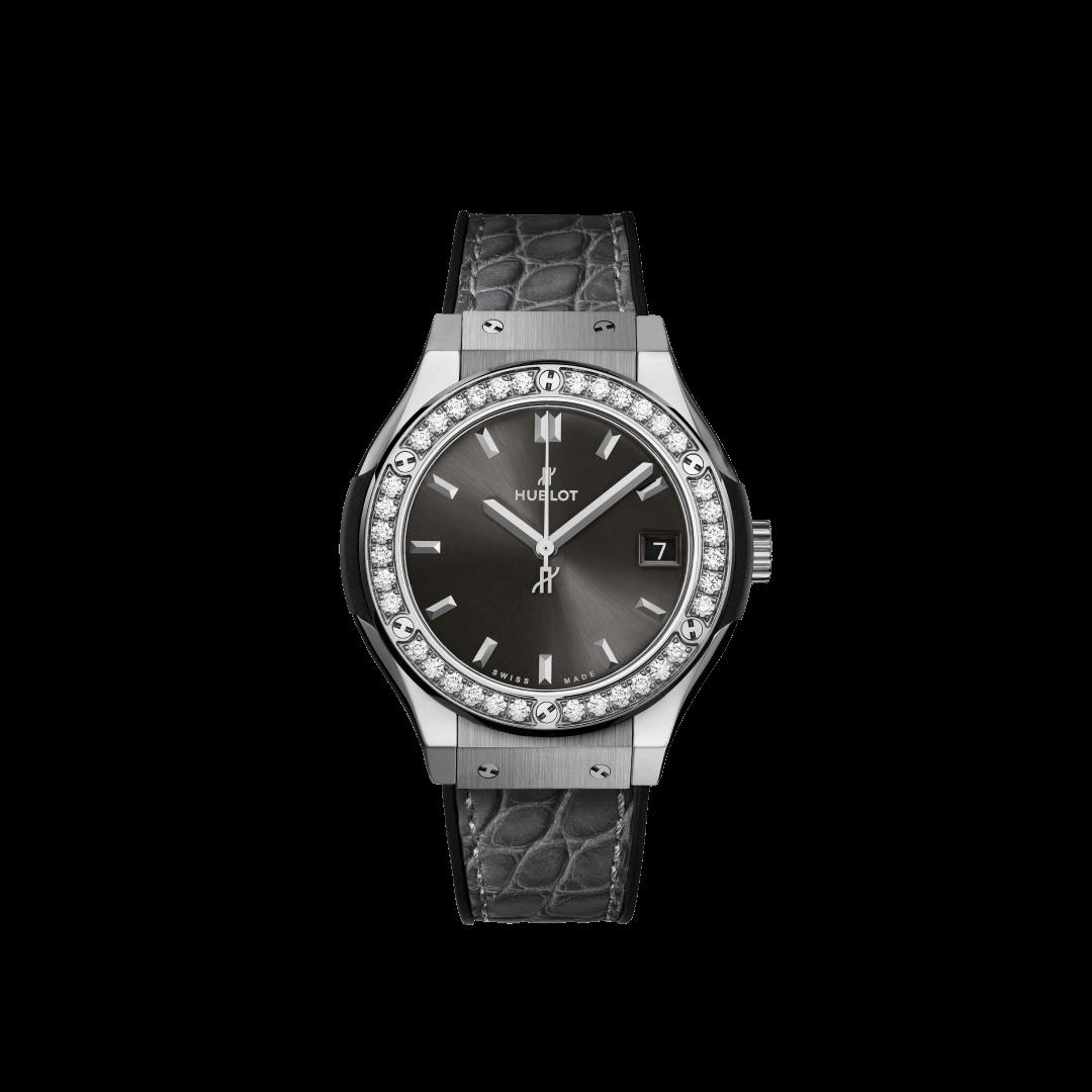 クラシック・フュージョン チタニウム レーシンググレー ダイヤモンド